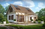 Фото дом из газоблока – Дома из газобетона — 90 фото лучших вариантов с красивым дизайном!