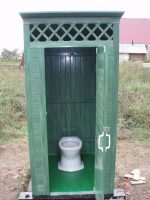 Кольца для туалета на даче – Как грамотно сделать дачный туалет из бетонных колец, нюансы в работе