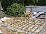 Сарай на столбах – Как построить сарай без фундамента своими руками?