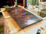 Изготовление искусственного мрамора из бетона своими руками – Мрамор из бетона своими руками: состав и технология изготовления