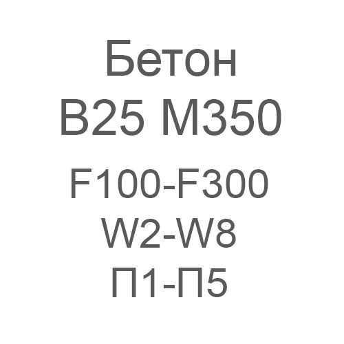 бетон в 15 f100