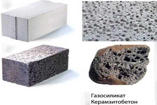 Керамзитобетон блоки или газосиликат тип поверхности бетона