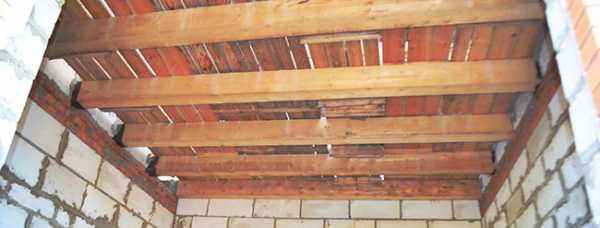 Установка перекрытий в доме из газобетона