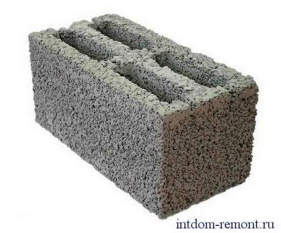 Керамзитобетон в опалубку замоноличиванием бетоном