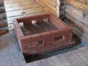 Фундамент под печь в деревянном доме своими руками – Как сделать фундамент под печь своими руками: правильная инструкция
