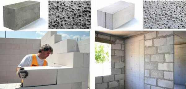 Газобетон и керамзитобетон в чем разница давление бетона
