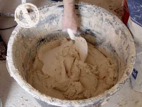 как развести цемент с песком для штукатурки