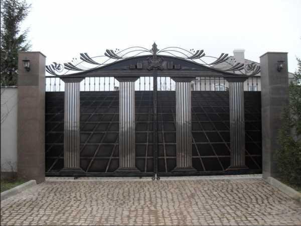 Чертежи и размеры подъемных гаражных ворот, как