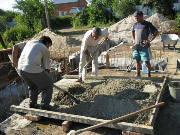 Бетон самостоятельно пропорции расчеты бетонные смеси