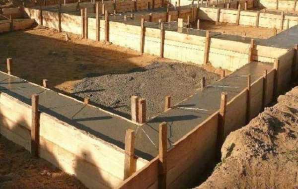 Расчет ленточного бетона машины для приготовления бетонных и растворных смесей