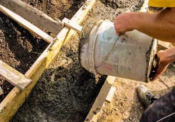 Состав бетонной смеси для заливки фундамента керамзитобетон боится ли влаги