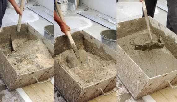 Песчано цементный раствор для штукатурки бут бетона