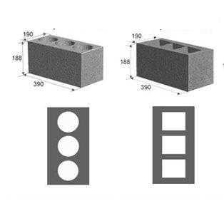 сколько в кубе керамзитобетонных блоков