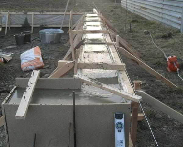 Цементный раствор пропорции для заливки опалубки части бетона