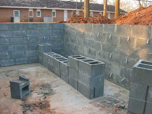 Армирование блоков из керамзитобетона бетон миллениум рф