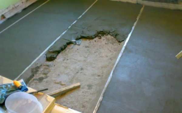 Смеси для выравнивания бетонного пола в гараже уголки для бетона